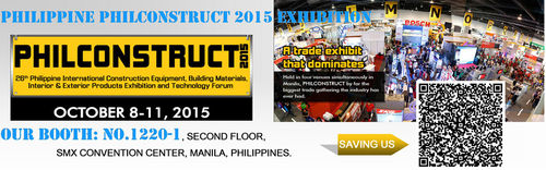 Philippine Philconstruct 2015 Exhibition