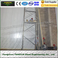 China 75mm Thick Thermal Insulated Sandwich Panels PU Wall System Use supplier