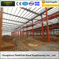 China EPS PU Sandwich Panels Steel Framed Buildings For Light Weight Steel House supplier