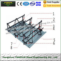 China Performance Reinforcing Steel Rebar Truss Floor Deck Sheet For Building Foundation supplier