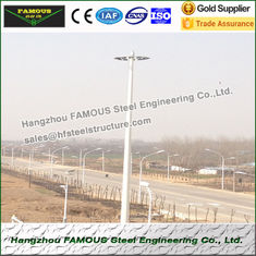 China Monopole And Lattice Tower Pole Steel Frame Buildings For Wind Power Tower supplier
