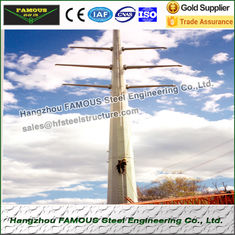 China Substation Frameworks Industrial Steel Buildings Tubular Towers supplier