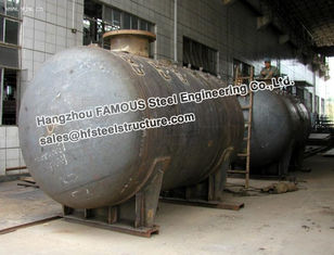 China Galanized Steel Industrial Pressure Vessel Vertical Storage Tank Equipment supplier