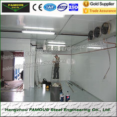 China Durable Modular Cold Room Panel Insulation Food Processing Plant supplier