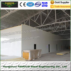 China Metal Thermal Insulation Cold Room Panel Storage 50mm White Grey Sandwich Panel supplier