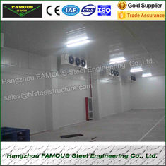 China High Density Fireproof Coolroom Panels Low Temperature Storage supplier