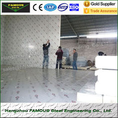 China Industrial Refrigeration Equipment And PU Cold Room Panels 950mm Width supplier