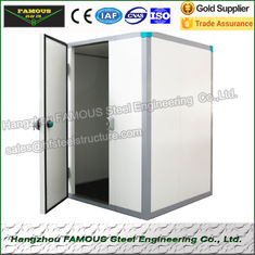 China 90mm Polyurethane Cold Room Panel To Assemble Walk In Freezer supplier