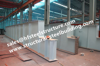 China Q345 Customized Light Prefab Steel Buildings Engineering Shed supplier