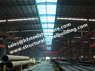 China EPS Sandwich Panel Covered Prefabricated Steel Buildings Workshop And Shed supplier
