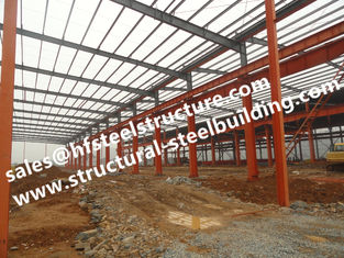 China Hot Galvanized Industrial Steel Buildings Modular Construction Sheds And Warehouse Din1025 supplier