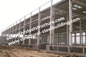 China Industry Metal Storage Buildings , Professional Project Steel Building Construction supplier