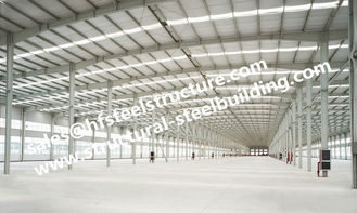 China Engineering Industrial Steel Buildings with Q235 Q345 Steel Material supplier