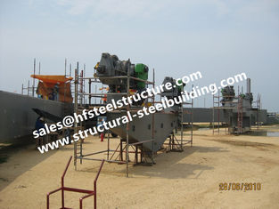 China Structural Industrial Steel Buildings Fabrication Construction For Containers Tanks Industrial Boiler supplier