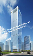 China Professional Multi-storey Steel Building For Residential Hotel / Office Project supplier