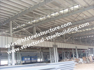 China Fabricated Structural Steel Pre-engineered Building Workshop Construction supplier