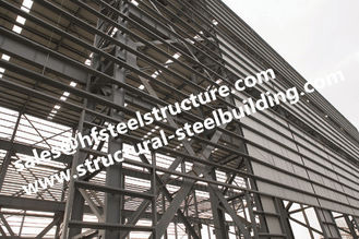China Q235 Q345  Heavy Metal Structural Steel Fabrication For Construction Projects supplier