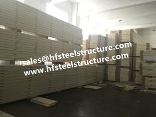 China Anti Corrosion Sandwich Panel For Food Fresh Keeping Room / Cool Room Panels supplier