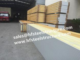 China Galvanized Polyurethane Sandwich Panel For Freezer Units Walk In Cold Room supplier