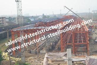 China Q235 Q345 Grade Industrial Steel Buildings , Building Steel Site Prefab Steel Buildings supplier
