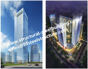 China Q345B Multi-storey steel prefab buildings For Residential Hotel And Office Fabricated Contractors supplier