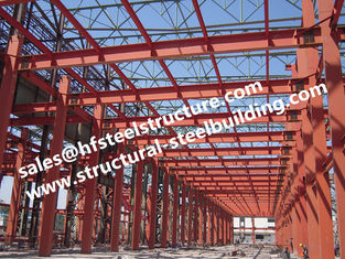 China Metal Roofing Industrial Steel Buildings With Doors And Windows On The Wall supplier