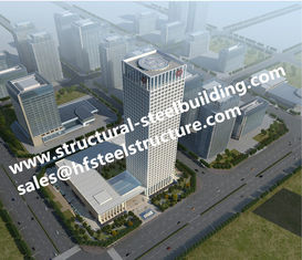 China Commercial Residential multi storey steel frame buildings And High Rise Building Contractor supplier