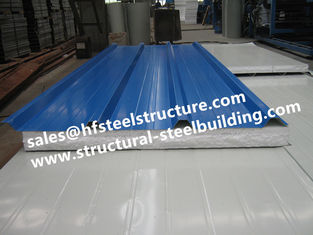 China EPS Sandwich Cold Room Panel Steel Sheet For Cold Storage and Prefab House supplier