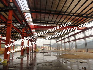 China Prefabricated And Pre-engineered Building Steel Industrial Warehouse Building supplier