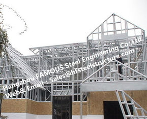 China Pre-engineered Industrial Multi-storey Steel Building For Apartment And Hotel supplier