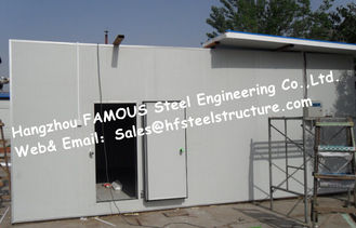 China Sandwich Panel Walk in Freezer For Meat , Walk in Cooler Refrigeration Unit supplier