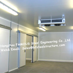 China Insulated Sandwich PU Cold Room Wall Panels For Refrigeration Unit And Deep Freezer supplier