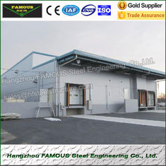 China Polyurethane Fireproof Walk In Freezer And Refrigeration Unit For Fresh Fruit And Vegetable supplier