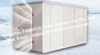 China Prefab Walk in Freezer Units Cold Room And Walk In Cooler Box  with Metal Camlock Panels For Poultry supplier