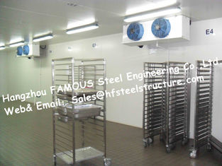 China Cold Storage Walk in Commercial Freezer And Individual Cooler Box Made of Sandwich Panel supplier