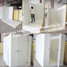 China Commercial Freezer Solar System Walk in Freezer Made of Insulated Material supplier