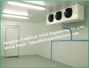 China Solar System Box Storage Freezer Cooler And Blast Freezer Cold Room with PU Sandwich Panels supplier