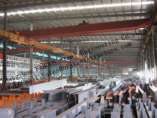 Prefabricated Industrial Steel Buildings , Single Span Steel Structural Buildings For Warehouse