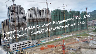 China Prefab Modular Architecture Multi Storey Steel Frame Buildings Apartment Project supplier