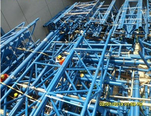 China Customized Prefabricated Pipe Metal Truss Buildings Grandstands And Sports Stadiums supplier