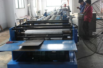 China C Purlin Cold Roll Forming Machine With Auto Punching / Cutting supplier
