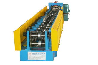 China C Z Purlin Cold Roll Forming Machine 15KW By Chain Transmission supplier
