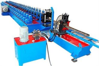 China Coil Process Cold Roll Forming Machine C Z For Galvanized Steel supplier