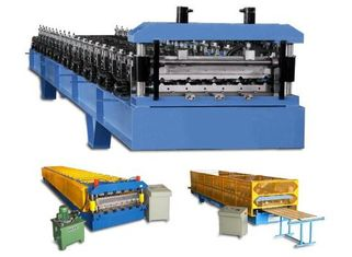 China Wall Cladding Corrugated Roll Forming Machine customized With Hydraulic supplier
