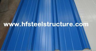 China High Strength Steel Plate Metal Roofing Sheets With 40 - 275G / M2 Zinc Coating supplier