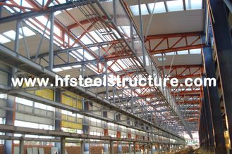 China OEM Sawing, Grinding Industrial Steel Buildings For Textile Factories And Process Plants supplier