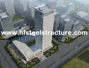 China High-rise Steel Building Multi-Storey Steel Building Electric Galvanized And Grinding,Punching,Shot-Blasting supplier
