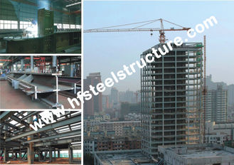 China Industrial Prefabricated Steel Storage Multi-storey Steel Building, 40FT GP, 20FT GP, 40HQ supplier