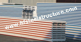 China EPS / PU Metal Roofing Sheets With Color Steel Sandwich Panel supplier