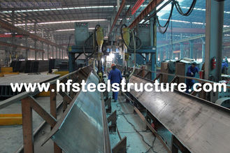 China Shearing, Sawing, Grinding, Punching And Hot Dip Galvanized Structural Steel Fabrications supplier